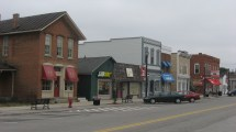 Downtown Waterville Ohio