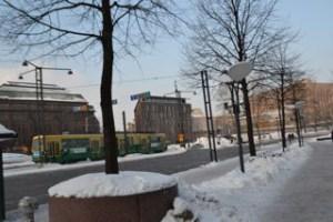 ヘルシンキ市内の風景