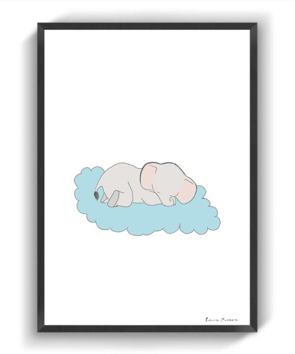 Blå Dumbo III