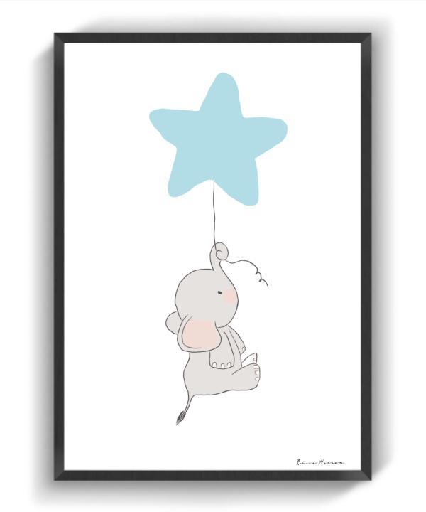 Blå Dumbo