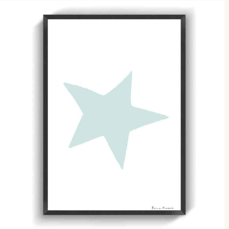 Blå stjerne