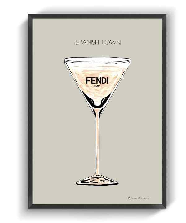 FENDI - SPANISH TOWN