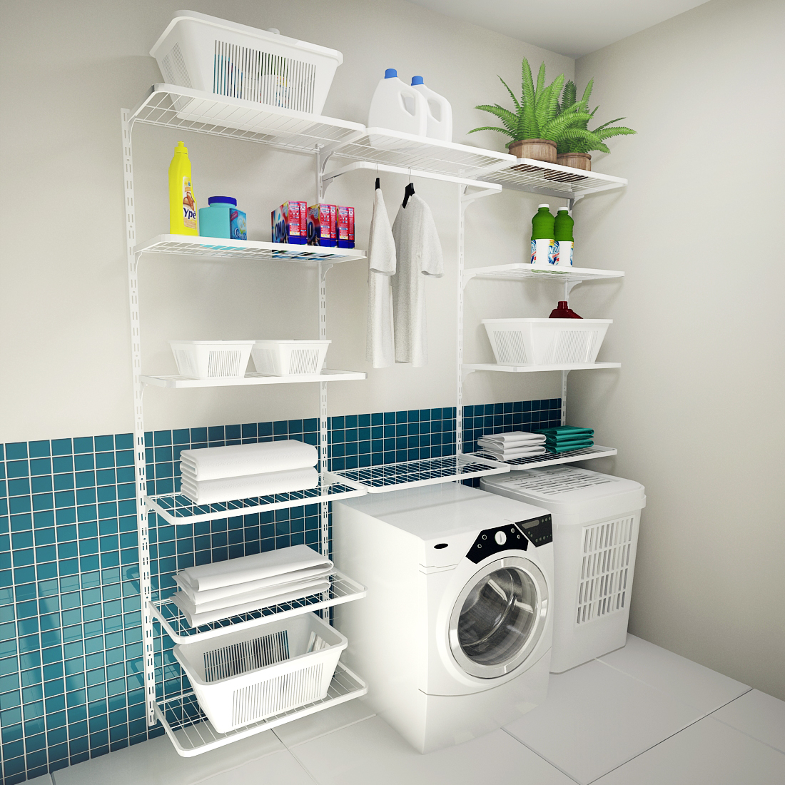 Como organizar a lavanderia da melhor forma  Notcias de