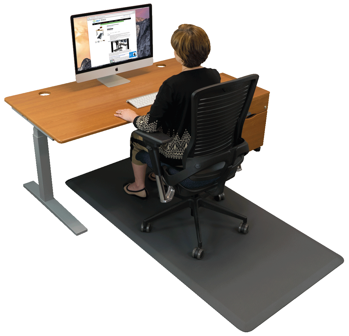 ergonomic chair mat fishing bed dimensions buy anti fatigue mats best for standing desks imovr hybrid sit stand