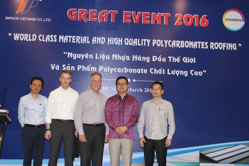 Seminar Polycarbonate Roofing Vietnam Impack Pratama