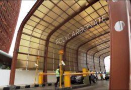 Aplikasi Atap Polycarbonate Twinlite