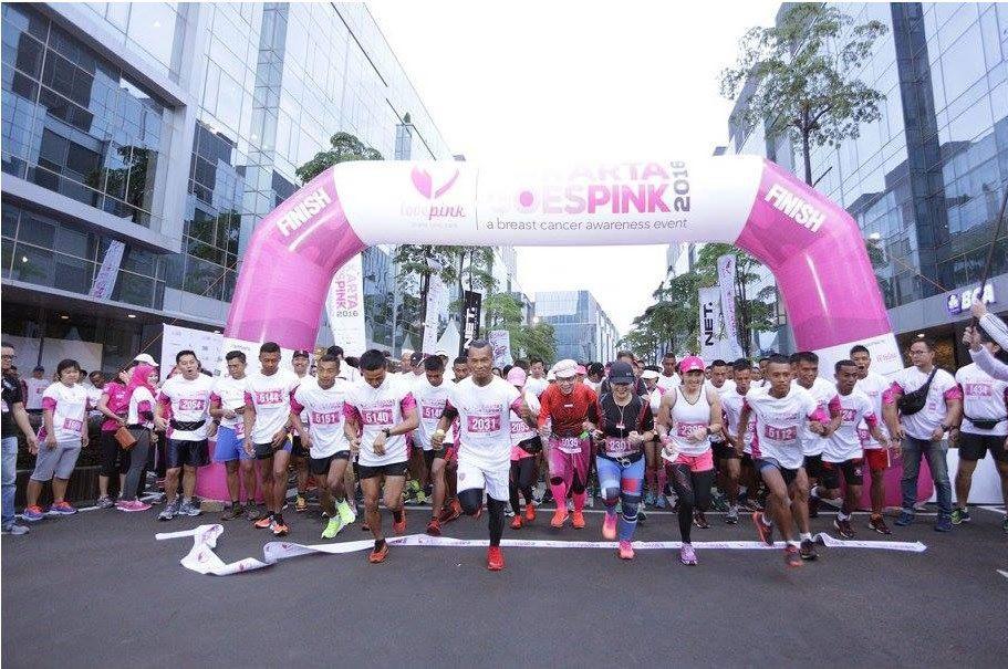 Impack Pratama Sponsoring Jakarta Goes Pink