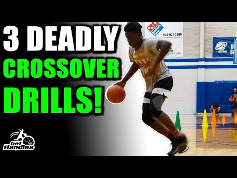 3 DEADLY Crossover Drills! Try These Ball Handling Drills With Cones