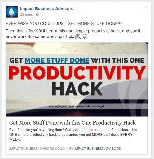 Facebook Instant Articles - Desktop Version