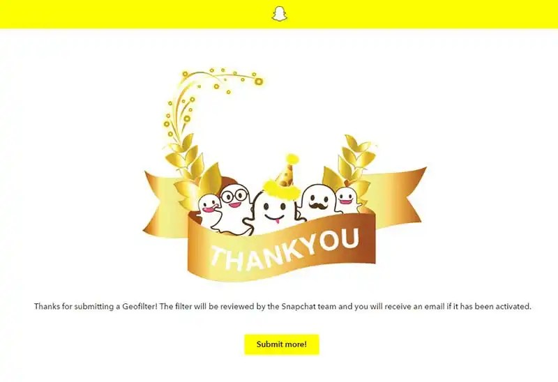 How to Create Snapchat Geofilters - Submit Geofilter