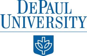 DePaul logo SECONDARY configuration (7462)
