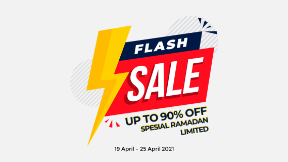 Flash Sale Spesial Ramadan (Up To 90%)