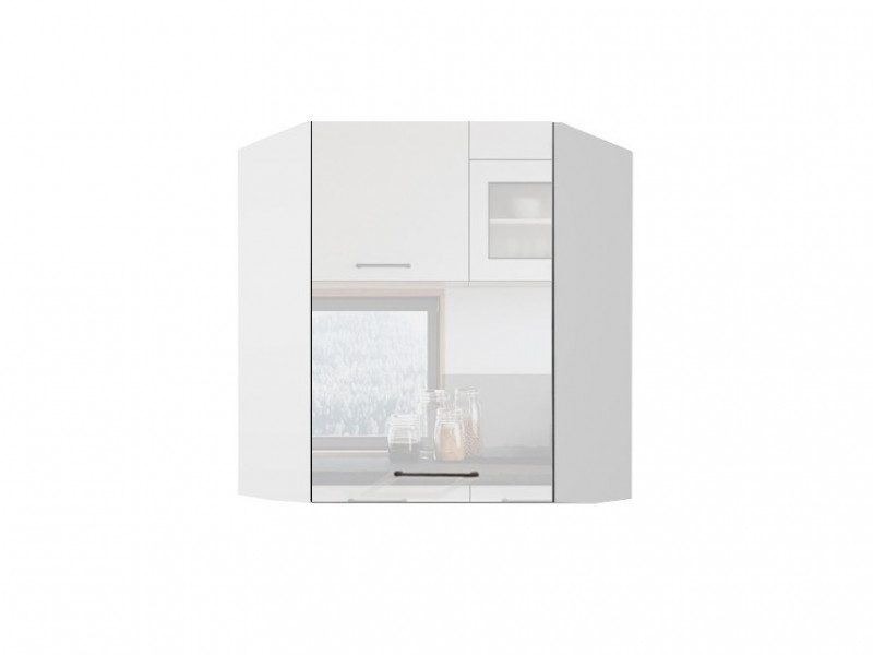 kitchen cabinet unit remodeling a free standing wall white gloss corner 60cm cupboard roxi wr60 p