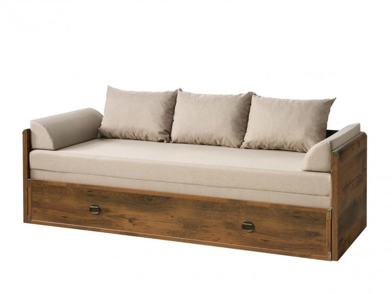 shabby chic sofa bed uk vitra soft modular converts to king size white wash pine or oak finish impact furniture
