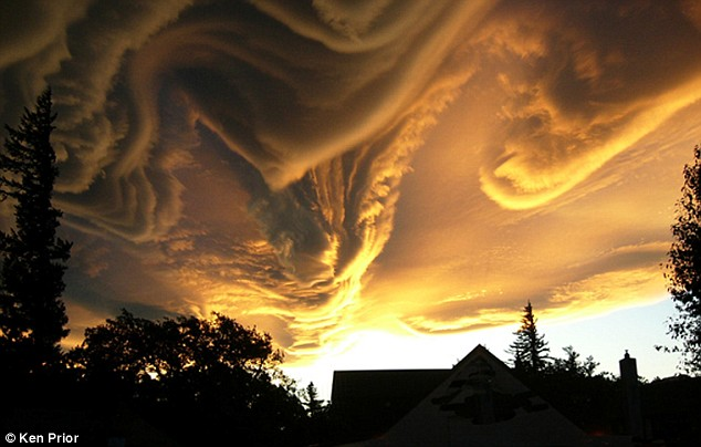 Meteoroligists Attempting To Have New Cloud Formations Named 'Asperatus'