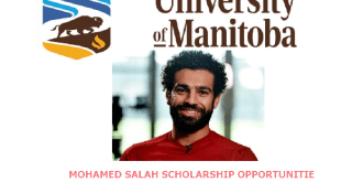 Mohamed Salah Scholarship in University of Manitoba Canada