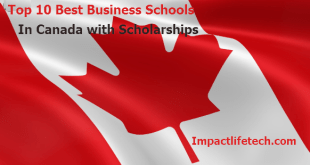Top 10 of the Best Business Schools in Canada with Scholarships