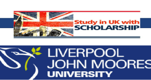 Vice Chancellor's Scholarship at Liverpool John Moores University in UK