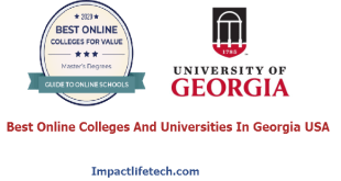 Best Online Colleges And Universities In Georgia USA
