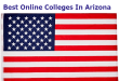 Best Online Colleges In Arizona