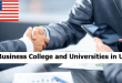 Best Business College and Universities in US