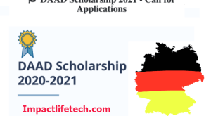 Fully Funded DAAD Scholarship in Germany 2021/2022
