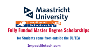 International Students Scholarships at Maastricht University