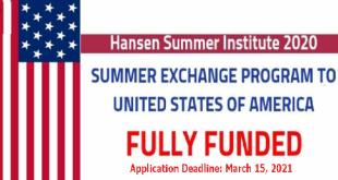 Summer Exchange Program at Hansen Summer Institute in USA