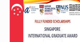 Nanyang Technological University Scholarships in Singapore 2021