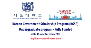 Fully Funded Seoul National University Scholarships 2021