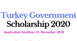 Fully Funded Turkish Government Research Scholarship