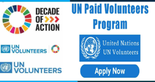 Fully Funded United Nations Volunteer program 2021