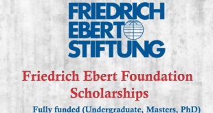Funded Friedrich Ebert Foundation Scholarship in Germany