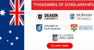 Fully Funded 2,450 Scholarships to Study in Australia 2021