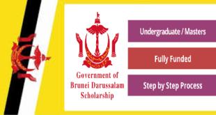 Fully Funded University of Brunei Darussalam Scholarship 2021