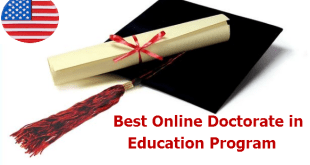 Best Online Doctorate in Education Program