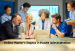 Online Master's Degree in Health Administration