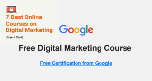 Online Courses on Digital Marketing