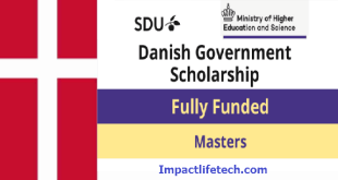 Danish Government Scholarships