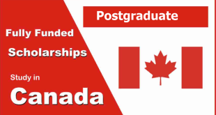 Best Postgraduate Scholarships in Canada for all Students