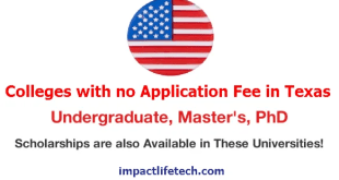 Top Universities in Texas With no Application Fee