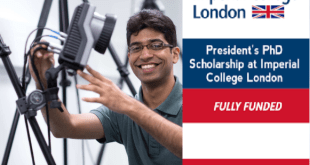 President's PhD Scholarship at Imperial College London
