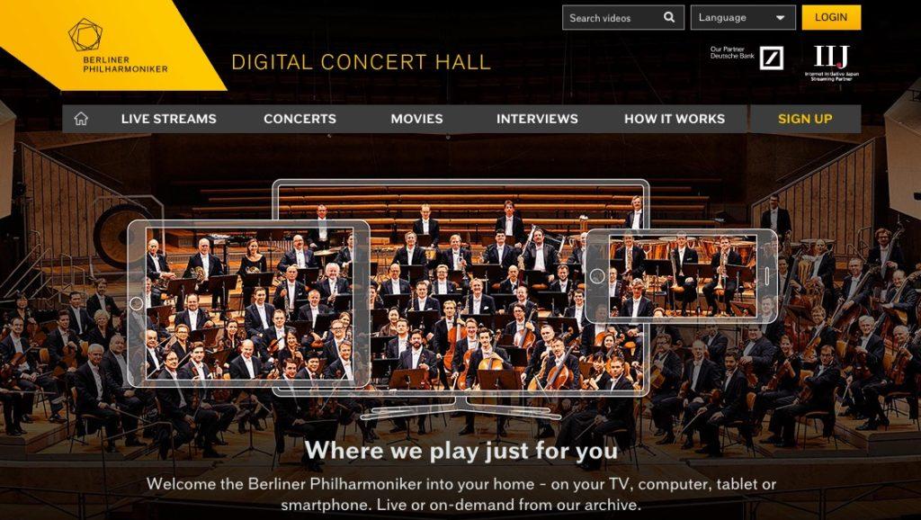Robert Zimmermann: Berlin Philharmonic Orchestra. Digital Concert Hall | impactmania