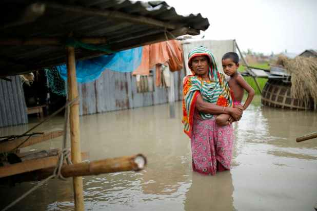 Should protection from flooding be a universal right? [Source: Abir Abdullah/EPA]