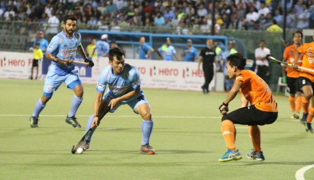 File : Chinglensana Singh Kangujam in action
