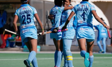 Indian Women's Hockey Team Beat 2018 Women's World Cup Silver Medalist Ireland 3-0