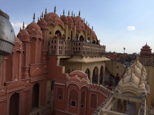 Inside the Hawa Mahal, Jaipur