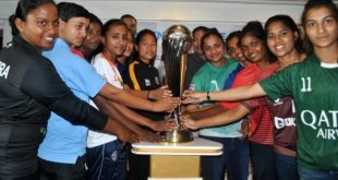Players (From L-R): Astrid Pereira (Bidesh XI FC), Shyama Rani (BBK DAV FC), Poli Koley (Sreebhumi FC), Amoolya (Bangalore United FC), Priya Mistry (Baroda FA), Dangmei Grace (Kryphsa FC), Ashalata Devi (Sethu FC), Manpreet (Kickstart FC), Mrunal Khot (FC Kolhapur), Karishma Oram (Odisha FC), Michel Castanha (Gokulam Kerala FC), Soumya Guguloth (Kenkre FC)
