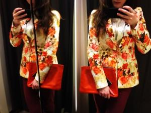 ITEM 3 Zara Jacket & Bag