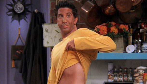 The One With Ross's Tan